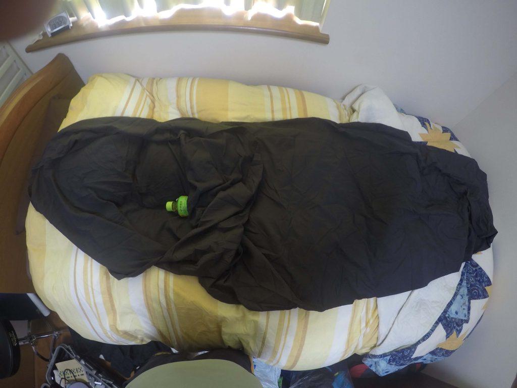寝袋のインナー