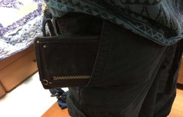 海外では財布を外から見えないようにしよう