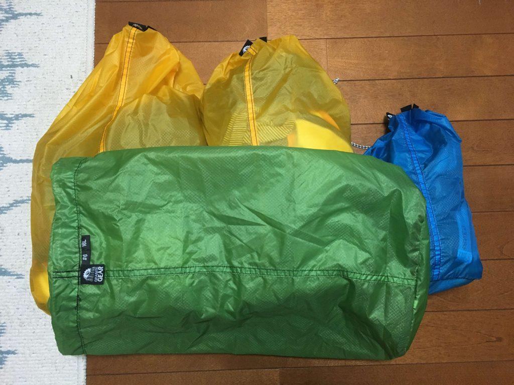 緑色のものを洗濯用にしている。サイズは16L(#6)